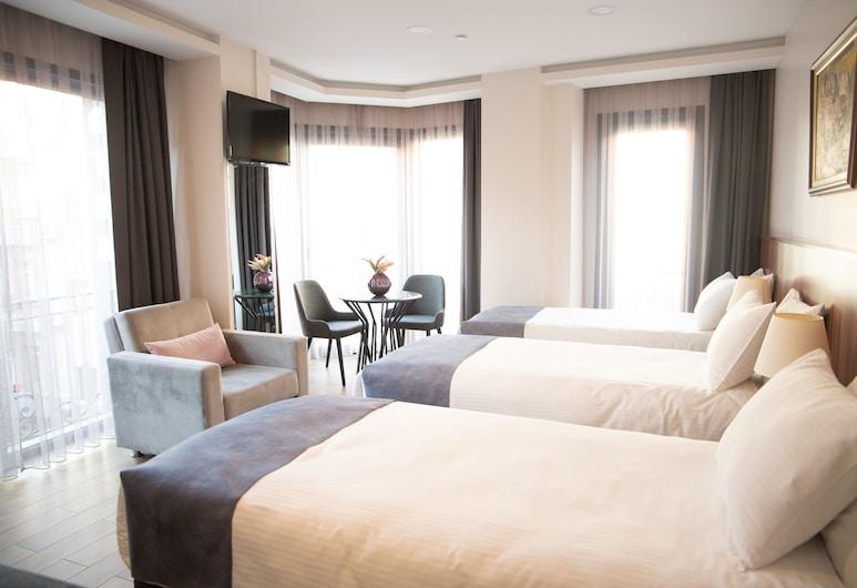 La Wisteria Boutique Hotel Istanbul, İstanbul, Deluxe Üç Kişilik Oda, 1 Yatak Odası, Oda