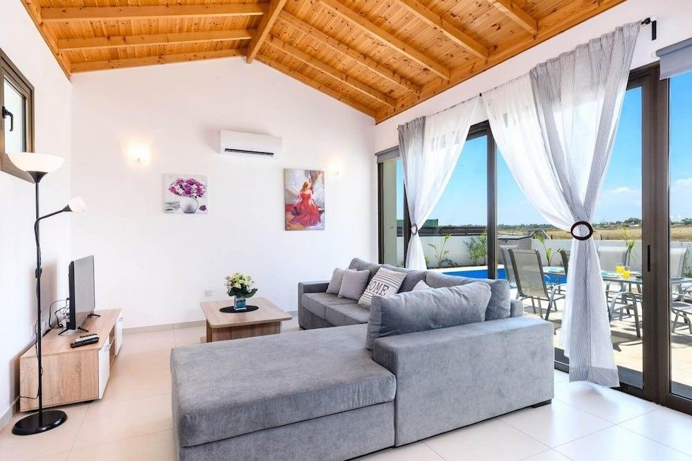 Villa, 3 camere da letto, piscina privata - Area soggiorno
