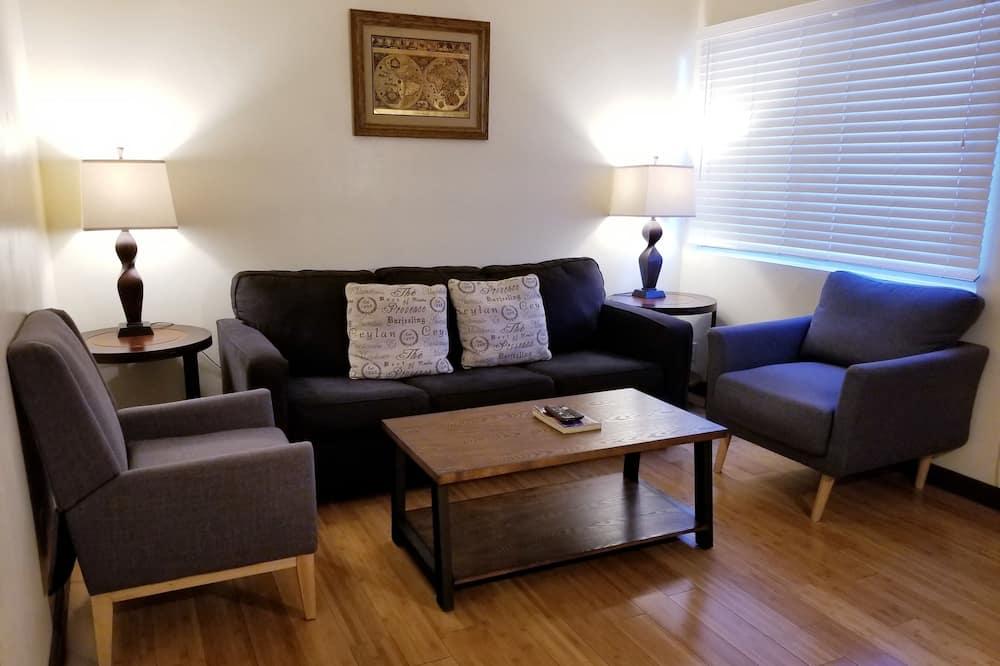 Comfort-Apartment, Mehrere Betten - Wohnzimmer