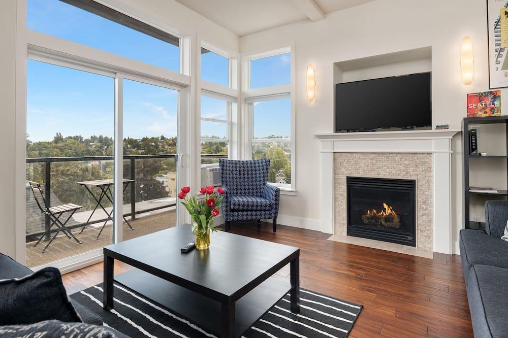 Mestský dom typu Deluxe, 3 spálne, kuchyňa - Obývacie priestory