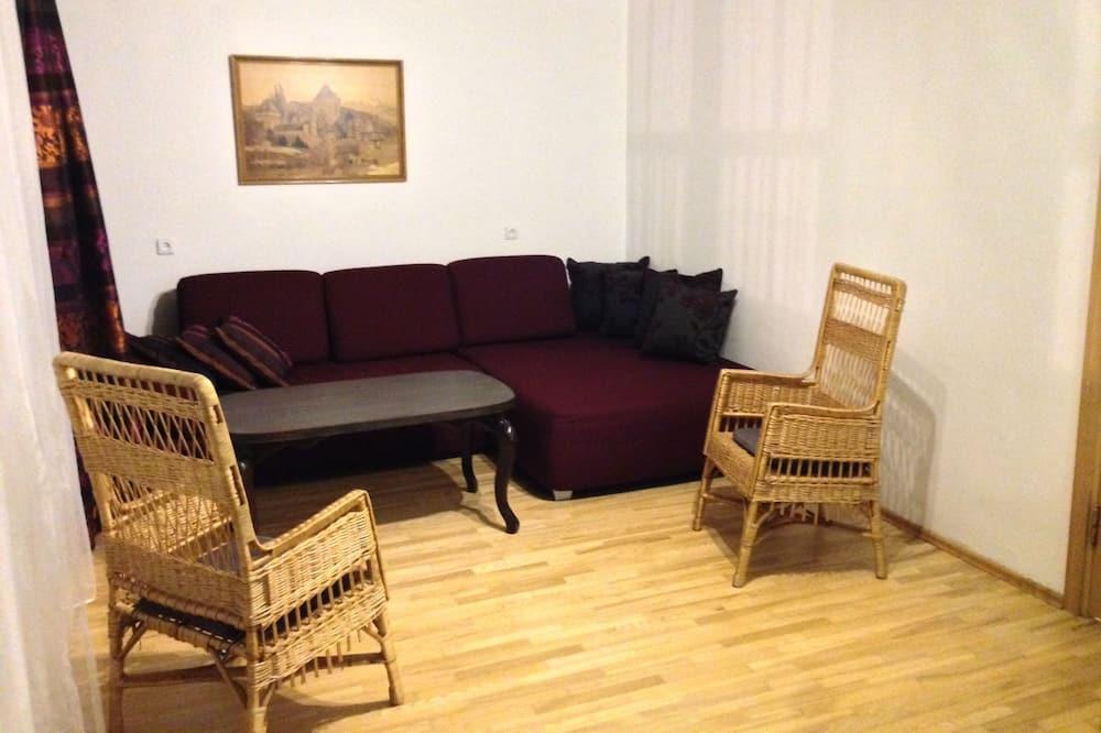 1 Bedroom apartment in Pilies street nr.23 - Dzīvojamā istaba
