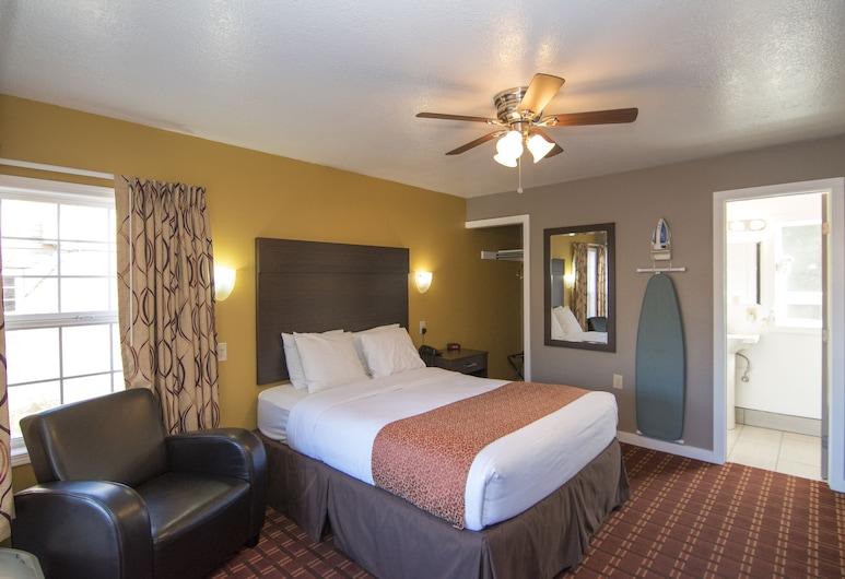 Capitol Hill Motel, Portland, Camera Standard, 1 letto queen, Camera