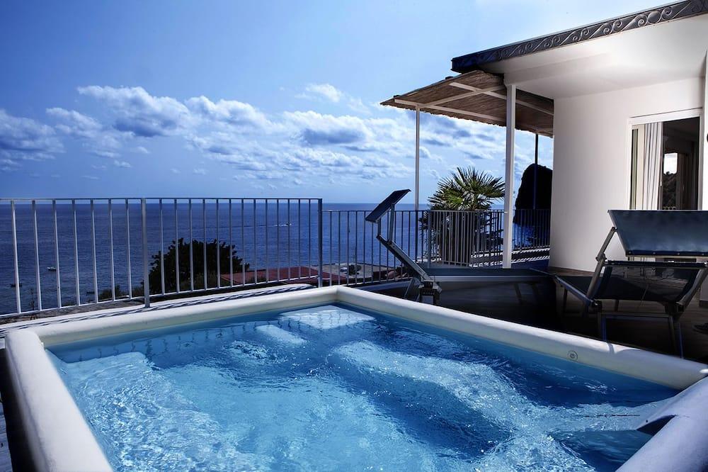 סטודיו רומנטי, ללא עישון, נוף לים - תמונה