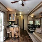 Karavan, 2 spálne - Obývacie priestory
