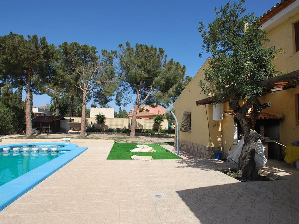Villa With 5 Bedrooms In Sant Joan D Alacant Private Pool Enclosed
