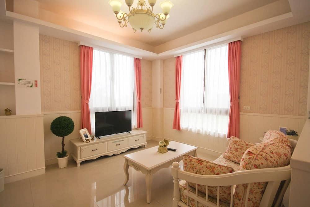 Superior Δίκλινο Δωμάτιο (Double), Μπανιέρα - Περιοχή καθιστικού