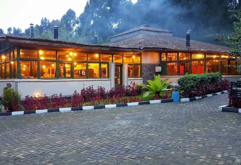 Le Bambou Gorilla Lodge, Kinigi, Fachada del hotel