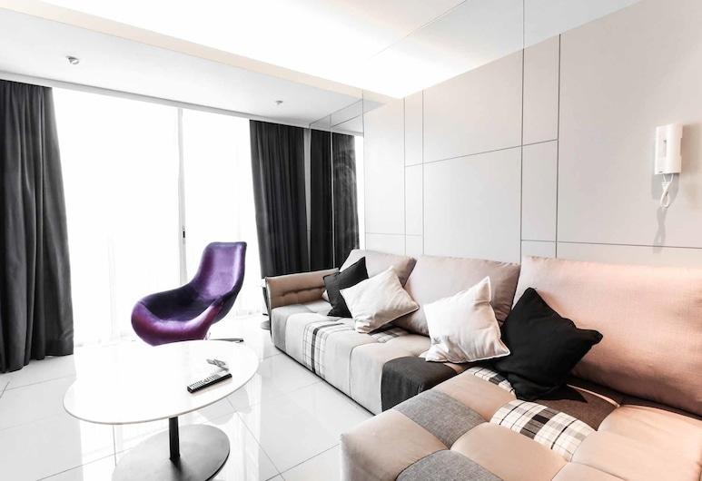 Victoria Home Verve Suites, Kuala Lumpur, Apartamento Executivo, 2 Quartos, Vista Cidade, Área de Estar