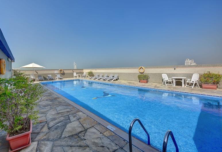 Rose Garden Hotel Apartments - Bur Dubai, Dubaj, Bazén na střeše