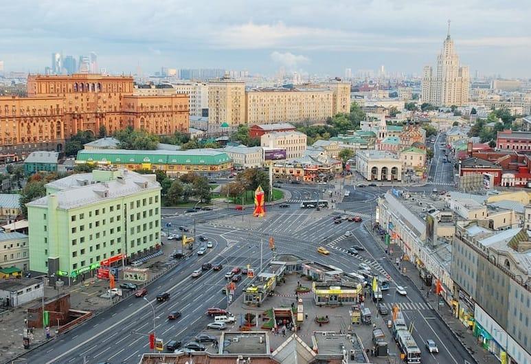 Hotel Biblioteka, Moskwa, Widok lotniczy
