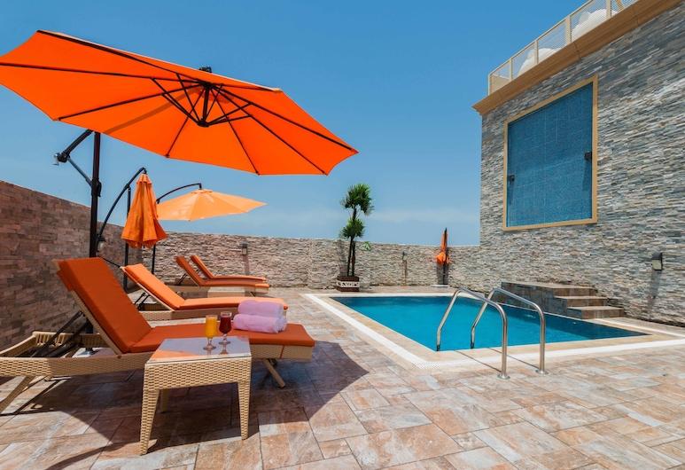 Boudl Quraish, Jeddah, Rooftop Pool