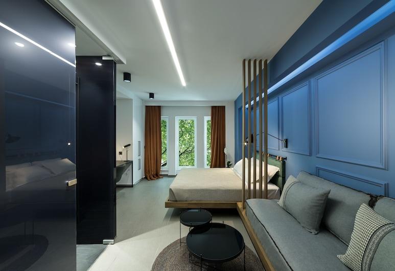 Sir Athens, Athens, Comfort Suite (Sir Comfort), Living Area