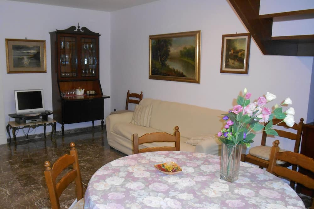 Maisonnette, 1 slaapkamer, uitzicht op tuin (Cipria) - Woonruimte