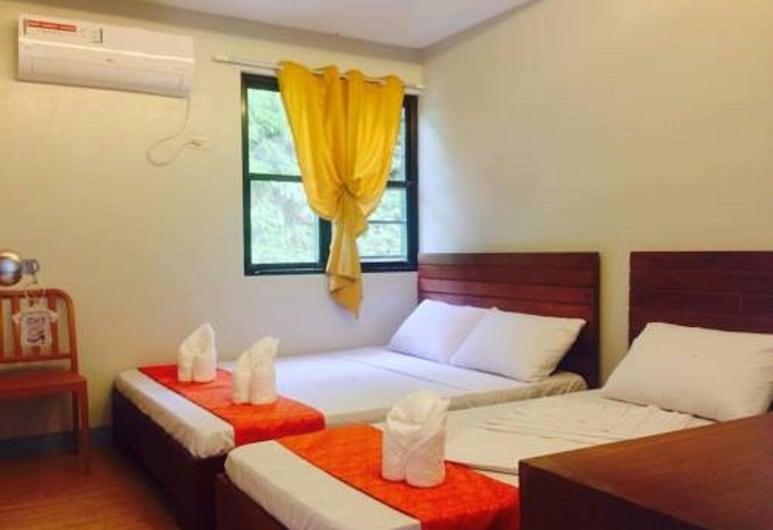 達運安菲島橄欖觀光旅館, El Nido, 標準三人房, 客房