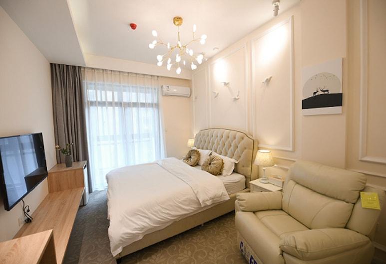 Miwei Light Luxury Aparthotel, Wuhan, Chambre Double Signature, Chambre