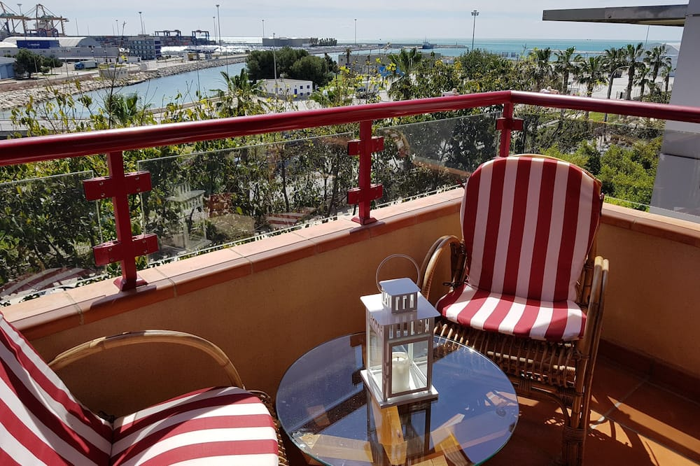 Departamento panorámico, 1 habitación, balcón, vista al mar - Imagen destacada