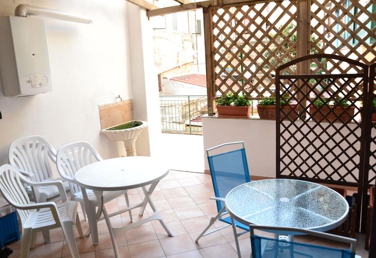 Mondello Holidays, Palermo, Lägenhet Classic, Terrass