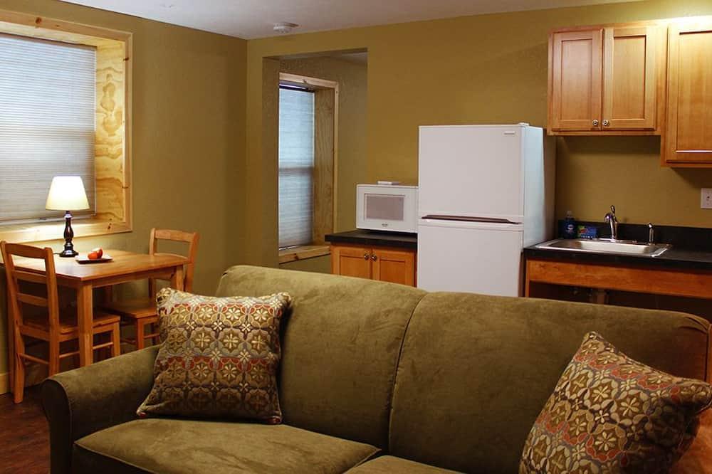 جناح - غرفة نوم واحدة - لغير المدخنين - بمطبخ - غرفة معيشة