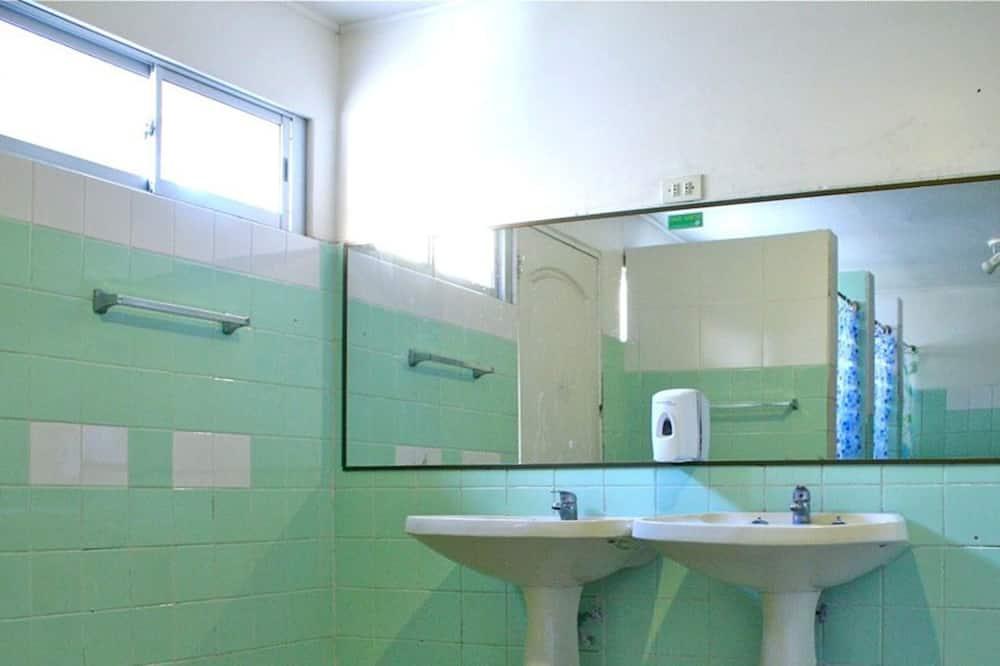 Gemeinsamer Schlafsaal, Nichtraucher - Waschbecken im Bad