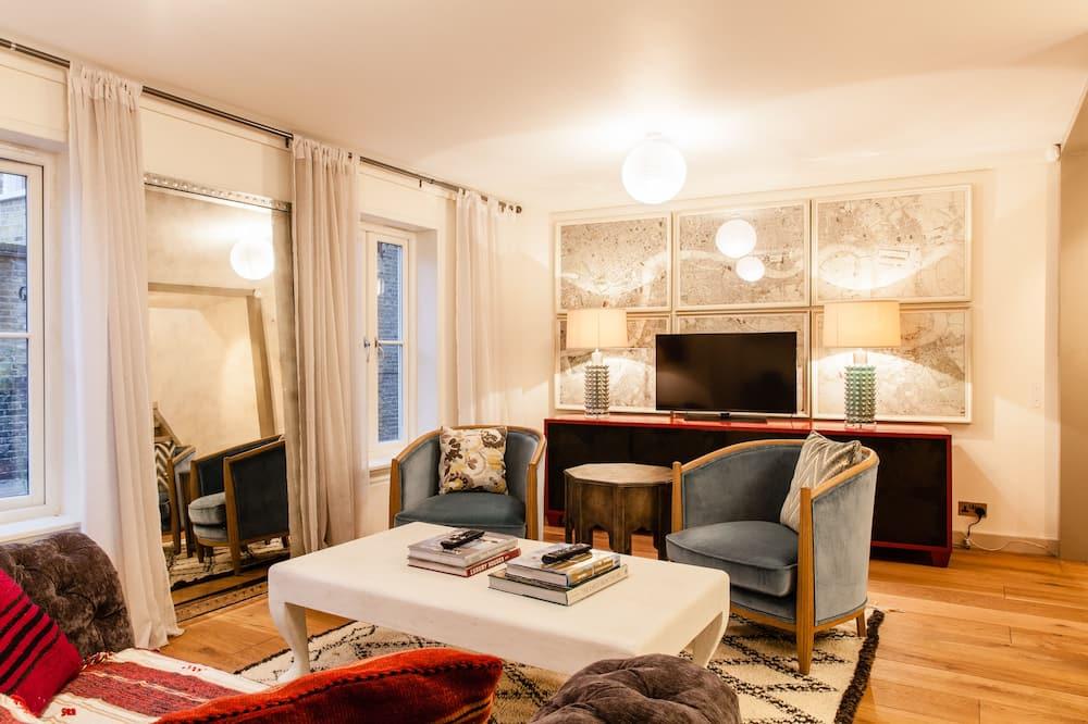 高級獨棟房屋, 3 間臥室, 城市景觀 - 客廳