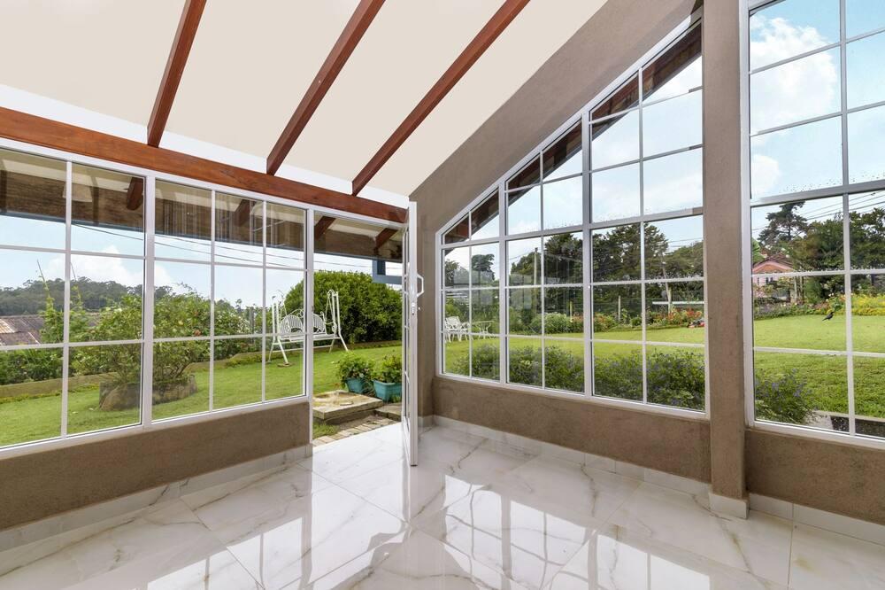 Deluxe-Villa, 3Schlafzimmer, Bergblick - Blick auf den Garten