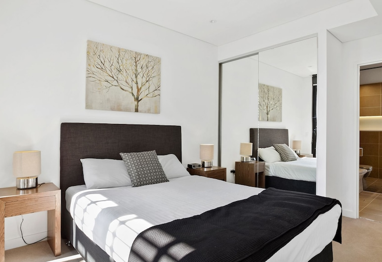 Wyndel Stunning One Bedroom, St. Leonards, Apartamento, 1 cama de matrimonio, Habitación