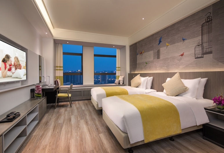 Citadines Gaoxin Xi'an, Xi'an, Studio, 2 Twin Beds, Guest Room