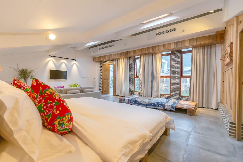 Сімейний номер-люкс, 1 спальня, ванна - Житлова площа