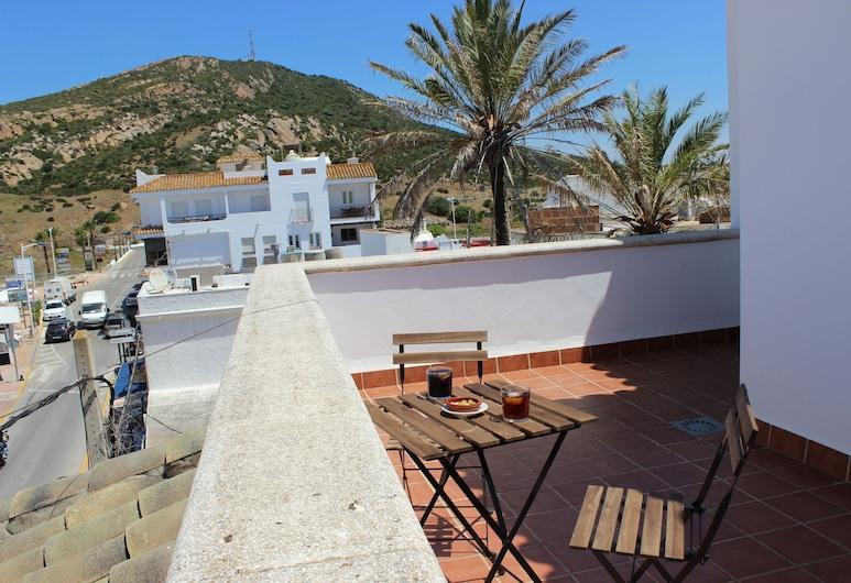 Hostal Jadraza, Barbate, Divvietīgs numurs, terase, Terase/iekšējais pagalms