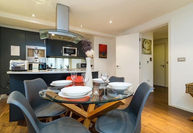 奧斯汀大衛浴公寓風格酒店, 倫敦, 公寓, 2 間臥室, 客廳