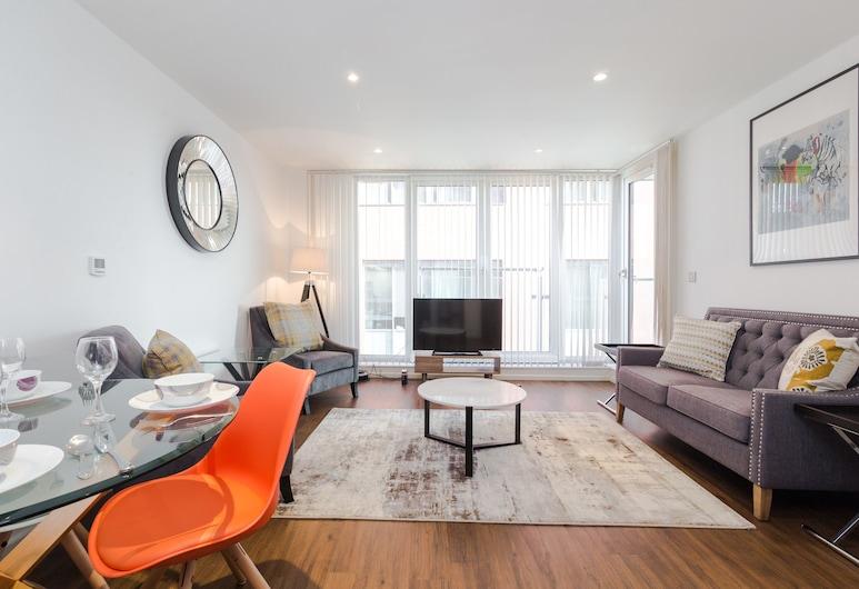 Bijou Delight by Austin David Apartments, London, Apartment, 1 Bedroom, Living Room
