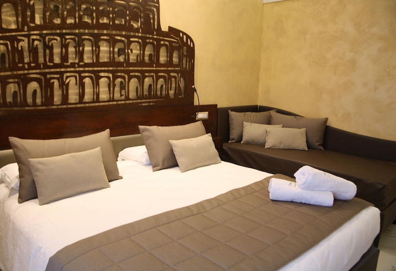 Maison Tritone, Rome, Deluxe Double Room, Guest Room