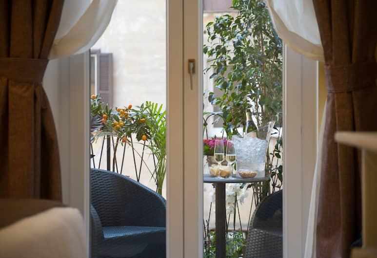 Maison Tritone, Roma, Kamar Double Deluks, balkon, Balkon