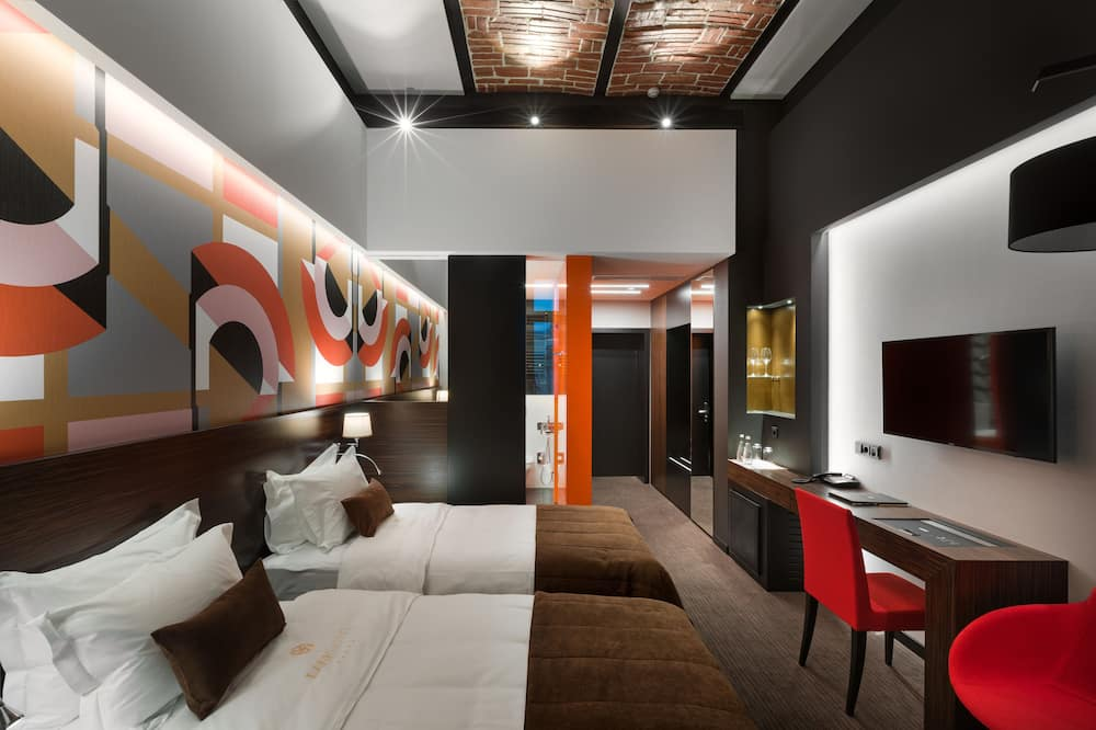 Superior Twin Room - Living Room