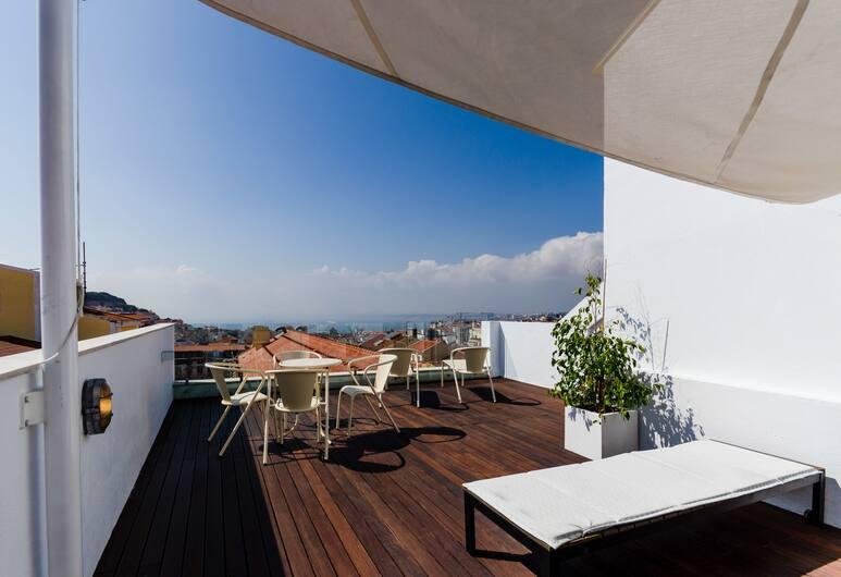 Quinta Colina by Shiadu, Lisboa, Loftsleilighet, Terrasse/veranda