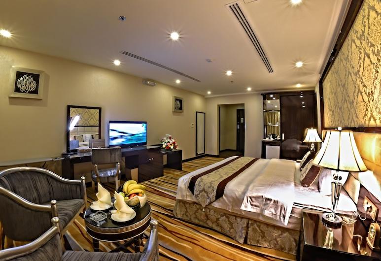 Garden Plaza Hotel , Al-Hofuf, Svit Superior - 1 kingsize-säng, Gästrum