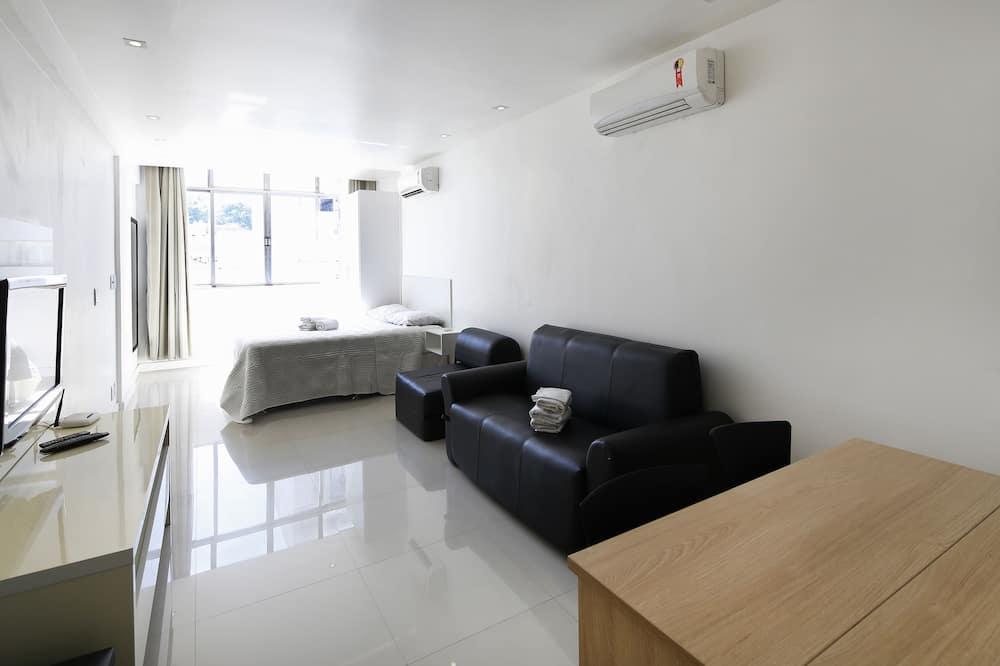 Rio Rentals 021 - C070 - Studio de luxo na quadra da praia de Copacabana
