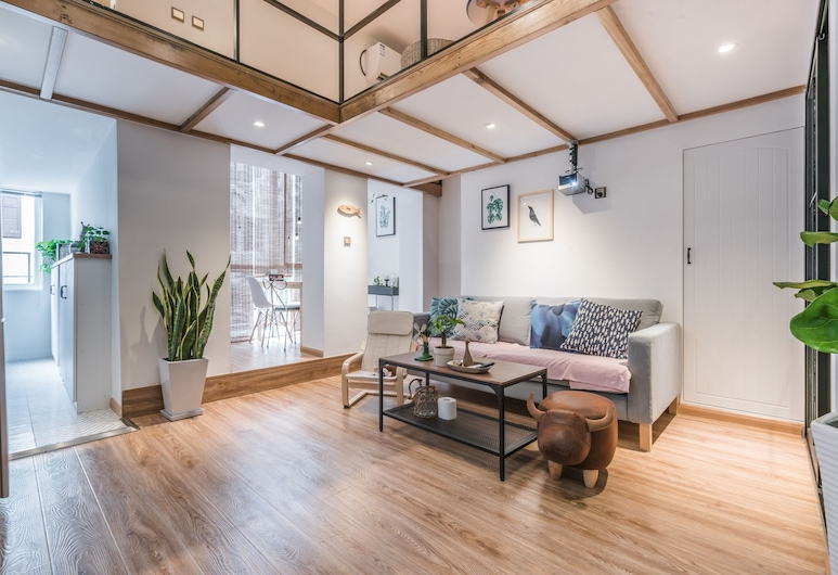 Cozy Apartment Best Location 188, Shanghai, Comfort Apartment, 3 Bedrooms, Living Room