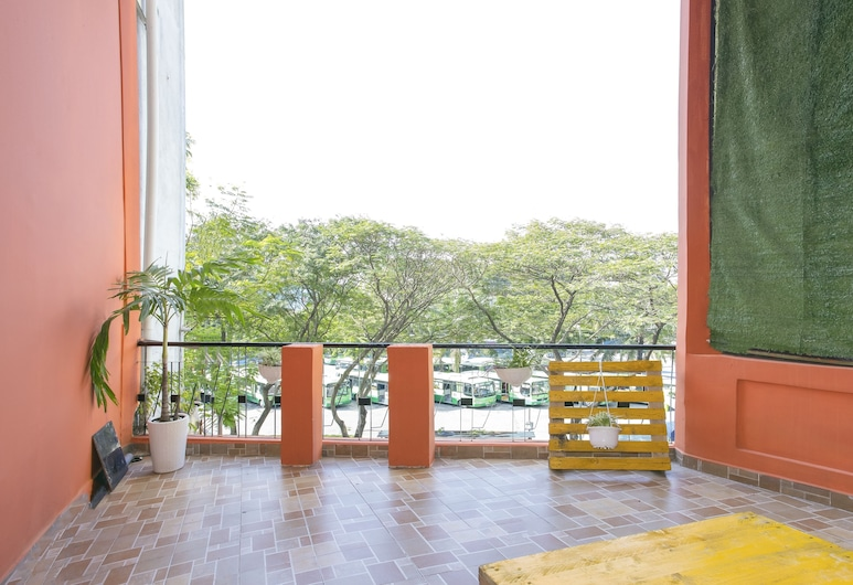 Hangout Hostel HCM, Πόλη του Χο Τσι Μινχ, Deluxe Κρεβάτι Ξενώνα, Μικτός Ξενώνας (Bed in 8-Bed), Μπαλκόνι