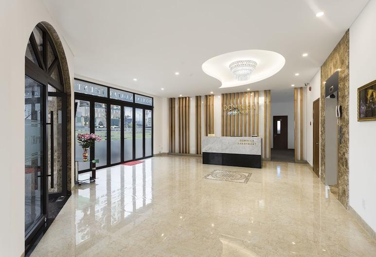 多明尼加公寓飯店, 峴港, 櫃台