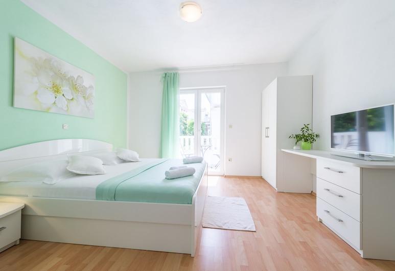 Apartmani Nikolina, Hvar, Studio, uitzicht op tuin, Kamer