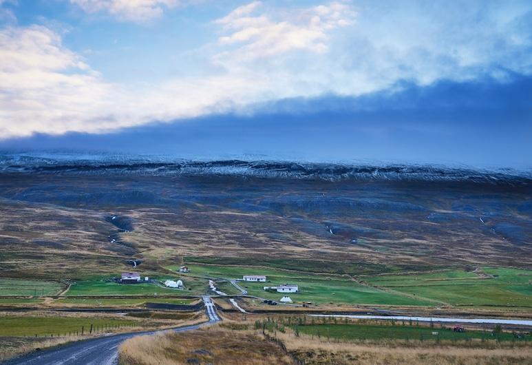 Sölvanes Farm Holidays, Skagafjörour, Hotelgelände