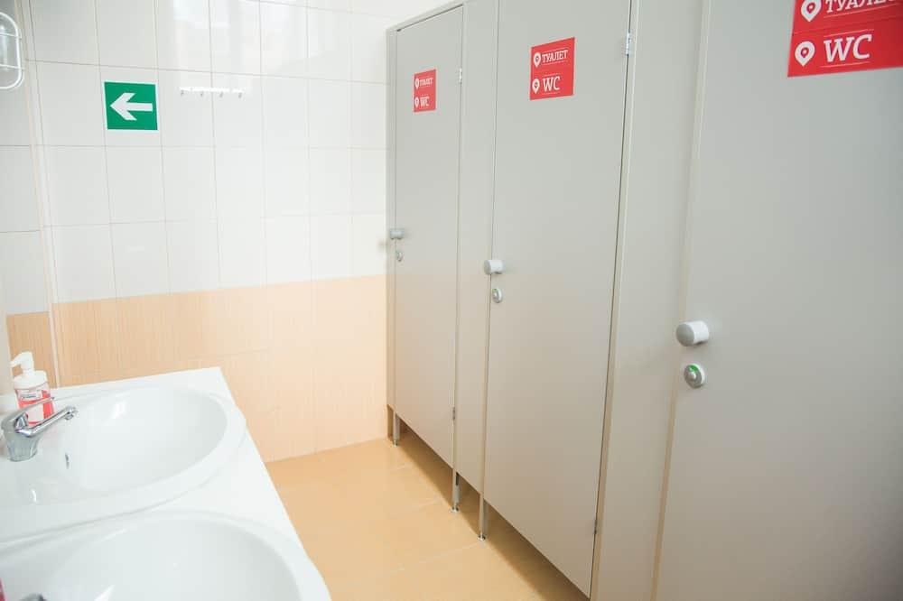 Standarta koplietojuma guļamzāle, tikai vīriešiem, pirmais stāvs (10 guests) - Vannasistaba