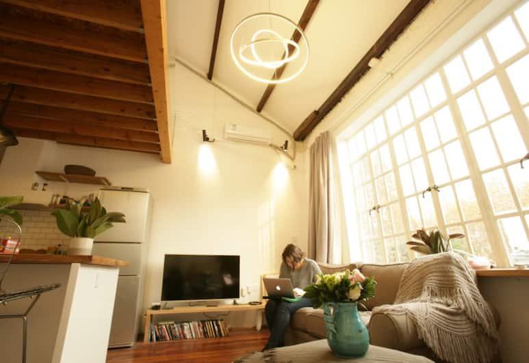 祕境法租界 - FX78 暖氣滿滿露台陽光, 上海市, 一室一廳, 客廳