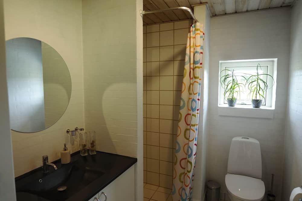 Quarto Duplo, 1 cama king-size, Casa de Banho Partilhada - Casa de banho