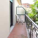 Jednokrevetna soba, balkon, djelomičan pogled na more (2) - Balkon