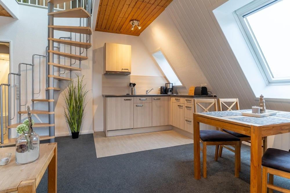 Standartinio tipo apartamentai, 1 miegamasis (3, Am Deich 26, excl. Cleaning Fee 60) - Svetainės zona