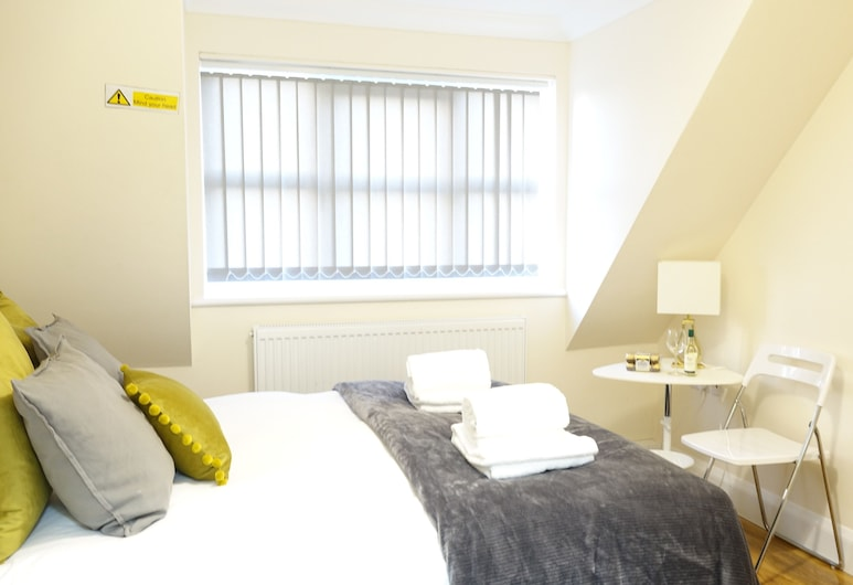 RC Airport Rooms, Staines, Dobbeltrom – deluxe (1), Gjesterom