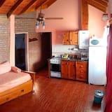 小屋, 1 張標準雙人床, 私人浴室 - 客廳