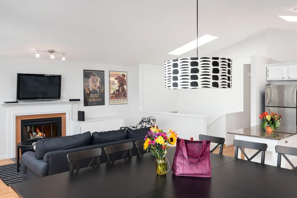 Dom typu Deluxe, 3 spálne, kuchyňa - Obývacie priestory
